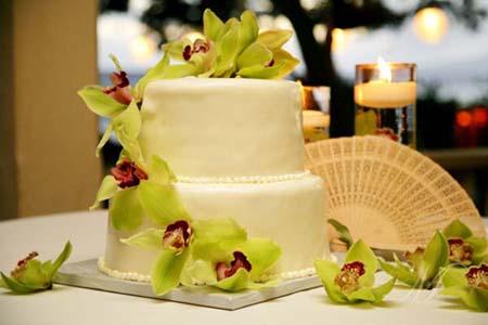 beach hawaiian wedding cakes